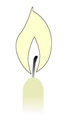 Svíčka konická béžová  31109.jpg