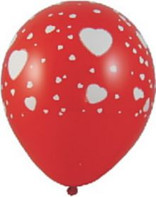 Nafukovací balonky Bílá srdíčka L.jpg