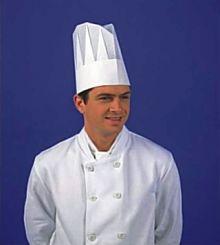 Kuchařská čepice vysoká 24 cm.jpg